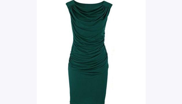 فستان بقماش متدرج