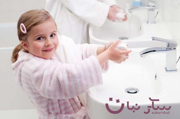 خطر الصابون المضاد للبكتيريا على حياة الأطفال