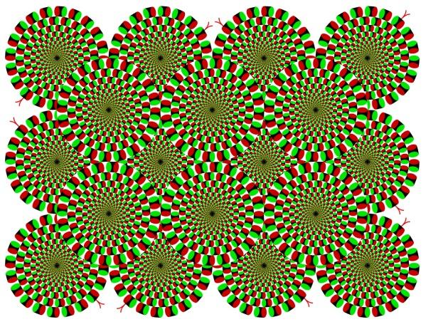 دوائر حمراء/خضراء متحركه