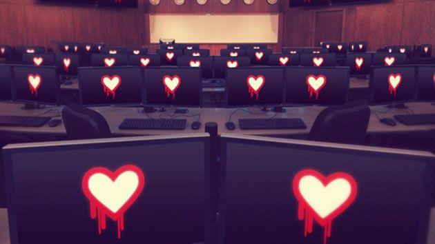 """ثغرة Heartbleed أو """"نزيف القلب"""" تخترق أنظمة البريد الإلكتروني وجدران الحماية النارية والهواتف المحمولة"""