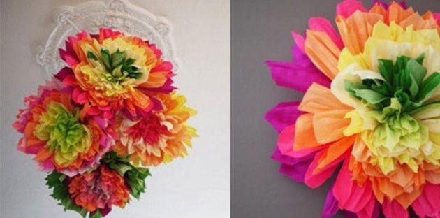 خطوات عمل باقة من الورود بشكل والوان رائعة