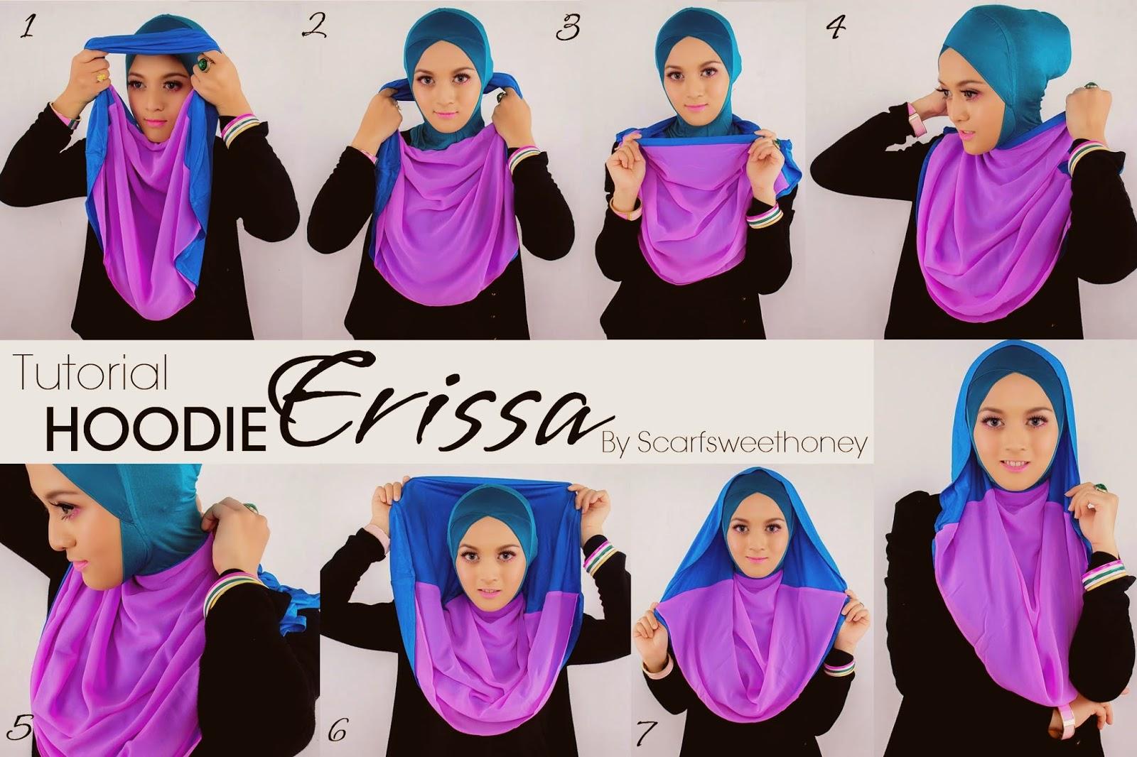 بالصور 10 لفات حجاب بسيطة وعصرية
