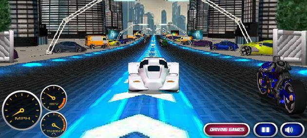 تغلب على زحام المستقبل - سباق سيارات