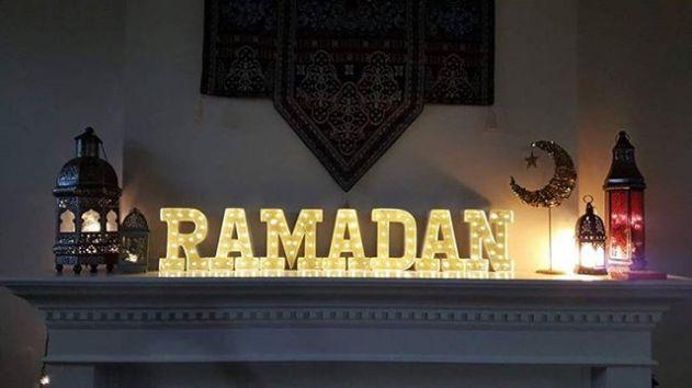 افكار زينة رمضان